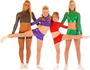 Crop Tops Boy Cut Briefs Cheer Briefs Bodysuits