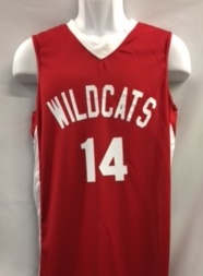 b51a71dd0 Troy Bolton Basketball Jersey High School Musical