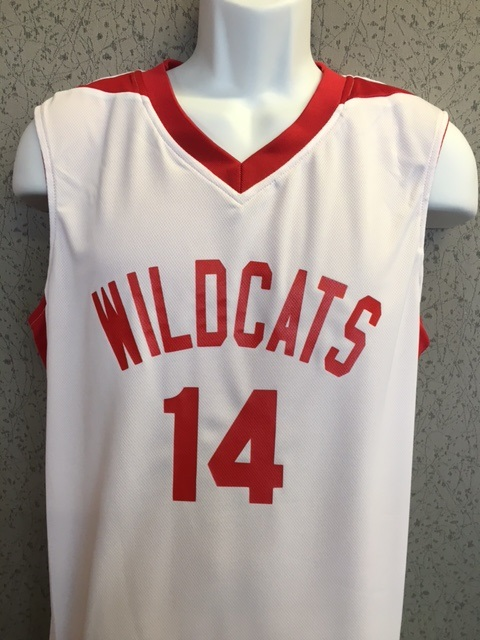 a54602ed2 High School Musical Reversible Basketball Jersey 2 jerseys in one