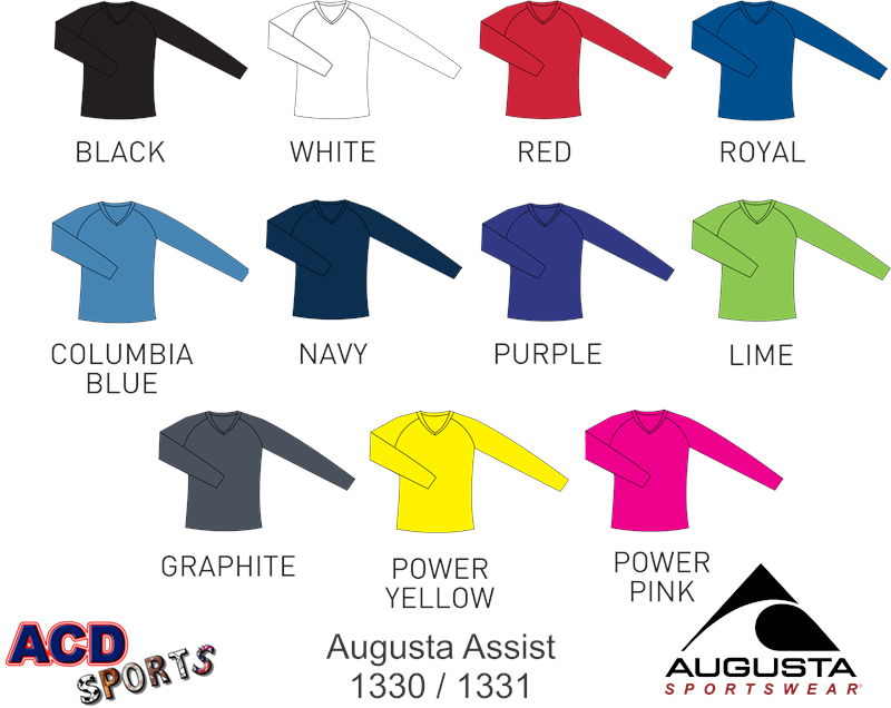 Augusta 1330 Ladies Assist Jersey