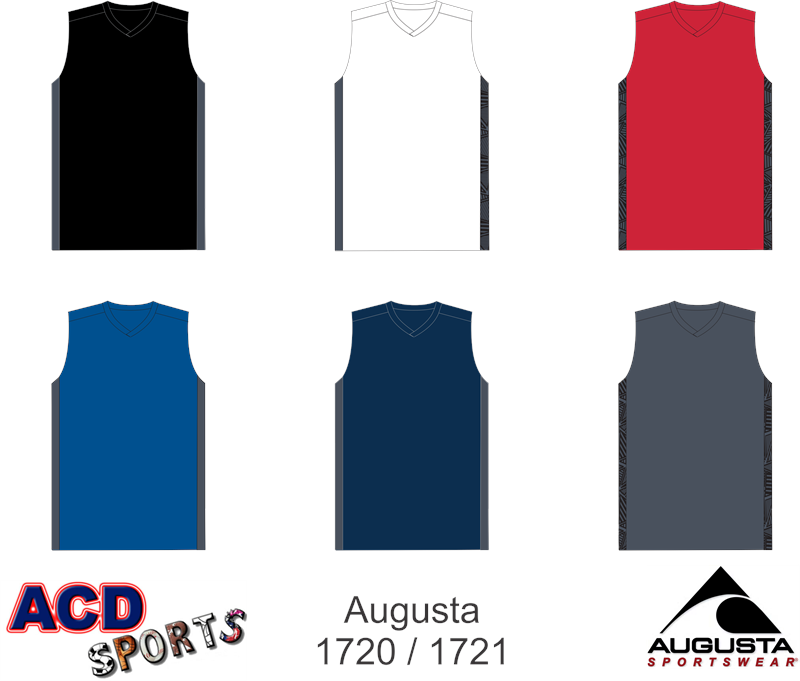 Augusta Fast Break Game Jersey 1721