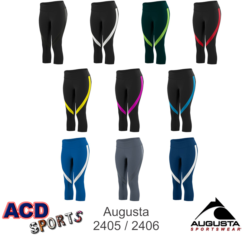 Augusta Action Ladies Capri 2405