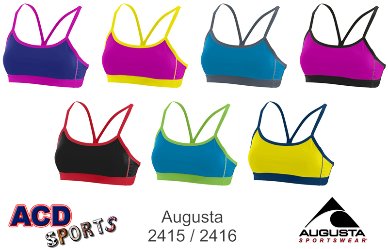 Augusta Encore Reversible Sports Bra 2415
