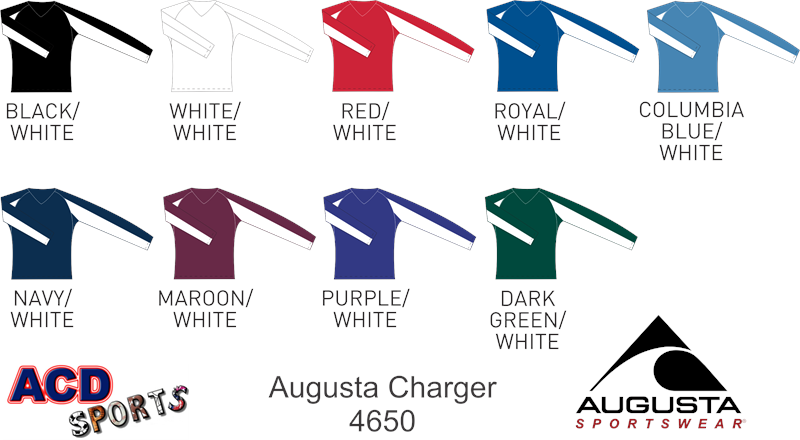 Augusta 4650 Charger Jersey