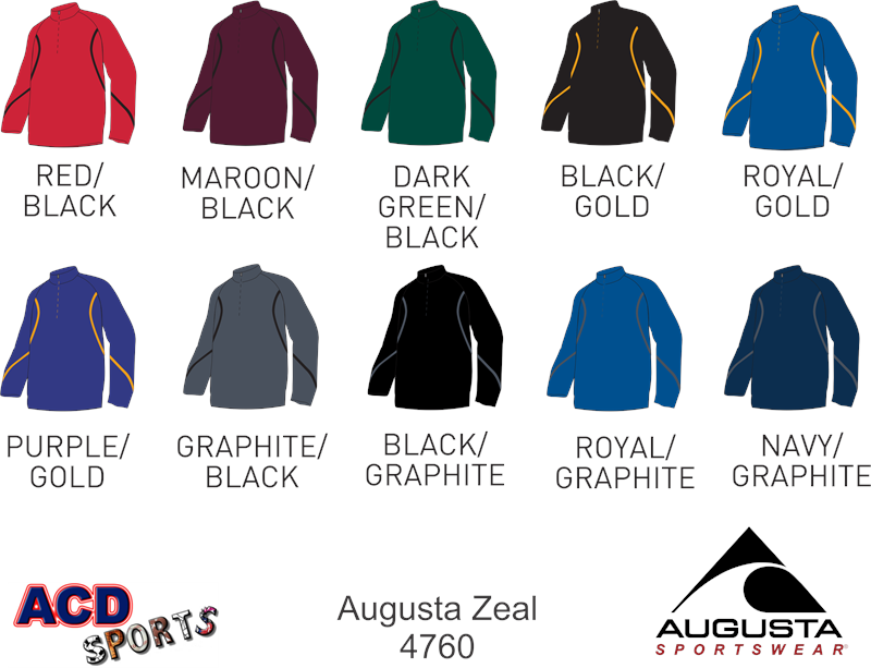 Augusta 4760 Adult Zeal Jacket