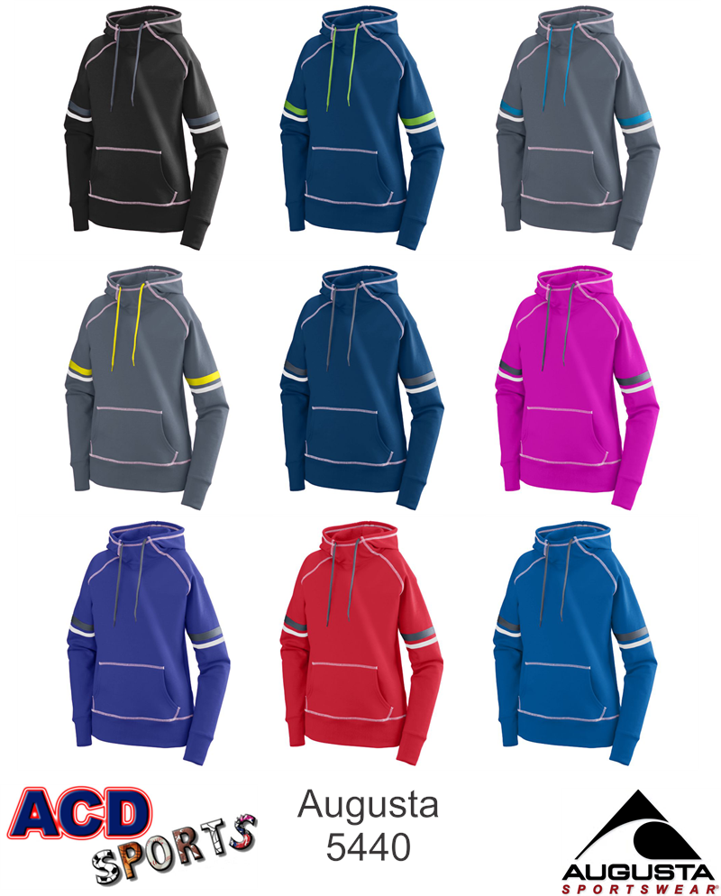 Augusta Spry Ladies Hoody 5440