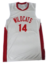 High School Musical White Basketball Jersey 5e7083263