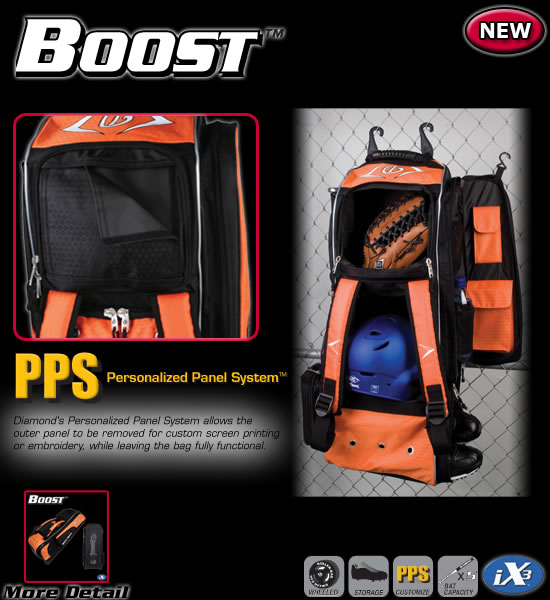 Boost Diesel Ix3 Elite Equipment Bag