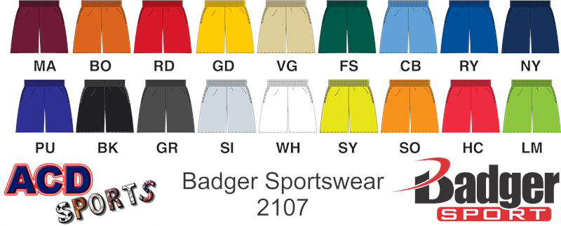 Badger 2107 B-Core Short