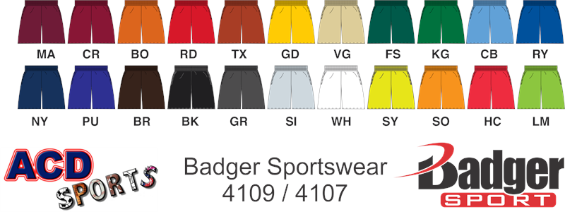 Badger 4107 B-Core Short
