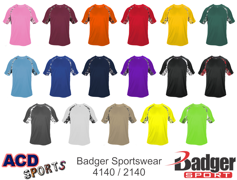 Badger 2140 Digital Hook Tee