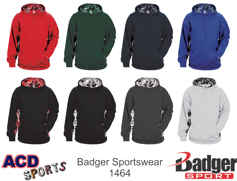 Badger Digital Camo Hoody 1464