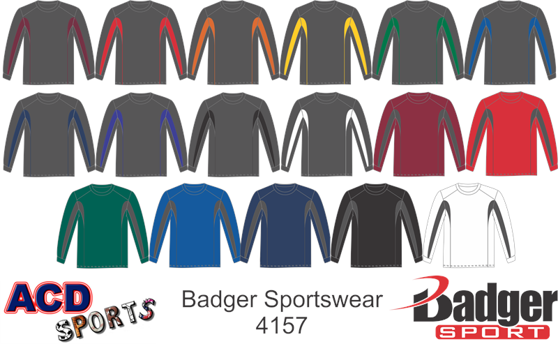 Badger Drive Long Sleeve Tee 4157