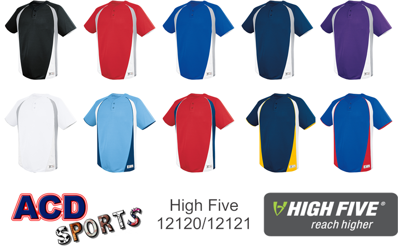 High Five 12120 Ace Two-button Jersey