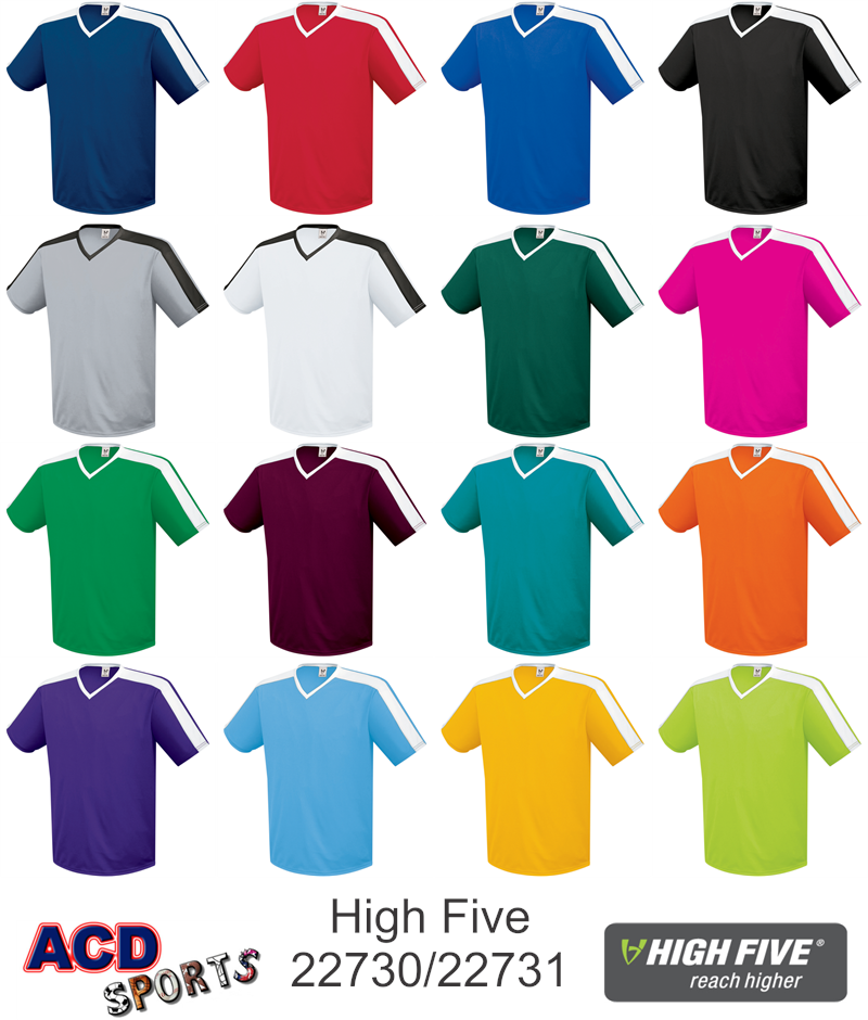 super popular be75e 5c7ea Genesis Youth Soccer Jersey High Five 322731