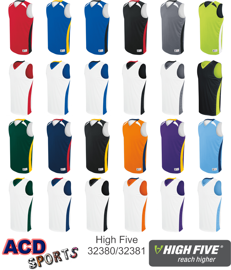 Campus Adult Reversible Game Jersey High Five 332380 70dbd1c2d
