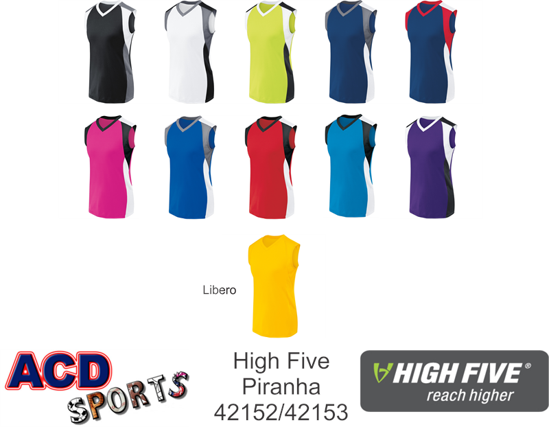 High Five 42152 Piranha Volleyball Jersey