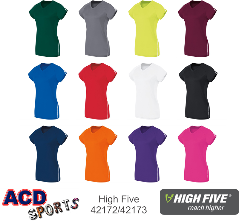 High Five 42172 Short Sleeve Solid Jersey