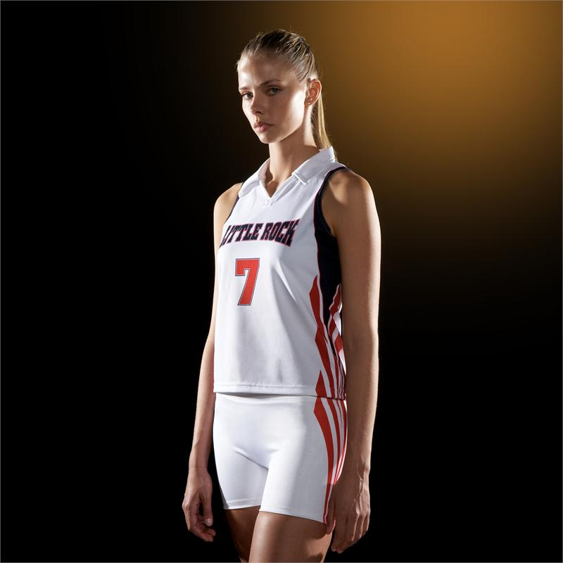 5b51ba4ece3 Flare Custom Teamwork ProSphere Volleyball Jersey. Flare Collared ADV Volleyball  Jersey