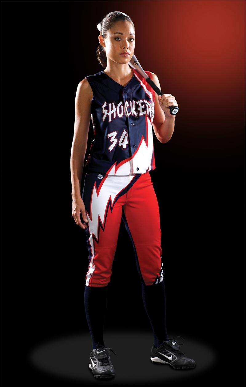thunderbolt womens sublimated softball jersey teamwork prosphere - Softball Jersey Design Ideas