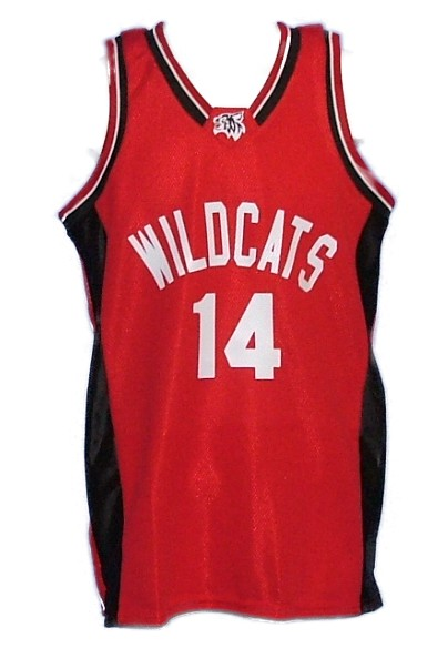 High School Musical Red Basketball Jersey