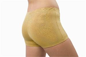 2600-SQ 2500-SQ Sequined Boy Cut Brief