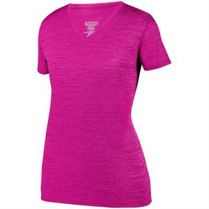 Shadow Tonal Heather Training Tee Ladies Augusta 2902