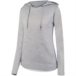 Shadow Tonal Heather Hoody Ladies - Augusta 2907