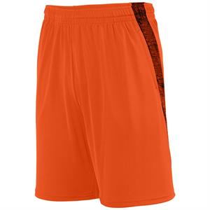 Intensify Black Heather Training Short Adult - Augusta 2960