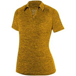 Intensify Black Heather Sport Shirt Ladies - Augusta 5409