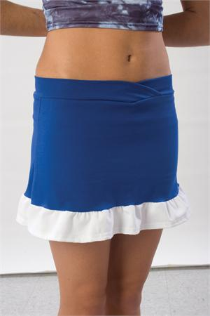 Ruffled Skirt w/ Boys Cut Briefs by Pizzazz Adult #7200 Youth #7100