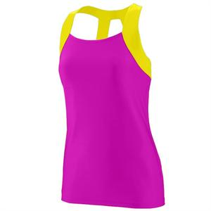 Jazzy Open Back Tank Ladies Augusta 1208