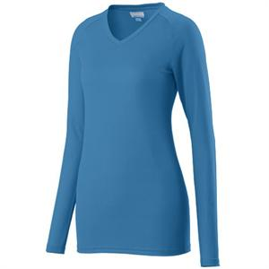 Assist Ladies Long Sleeve Jersey Augusta 1330