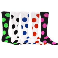 Bubbles Socks by Red Lion #8205