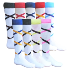 Criss Cross Socks by Red Lion #7679