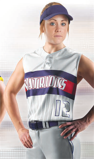 Fade Sublimated Fastpitch Uniform