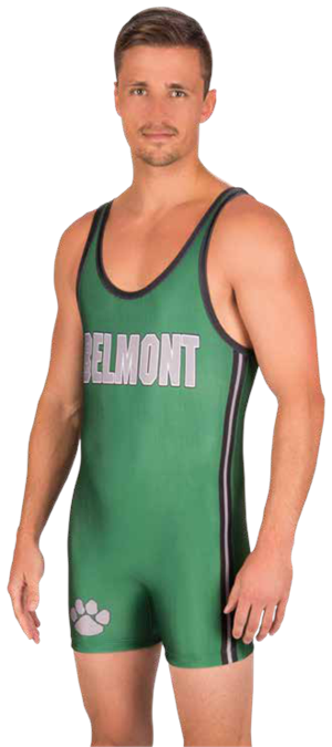 Leverage Sublimated Wrestling Singlet Teamwork ProSphere