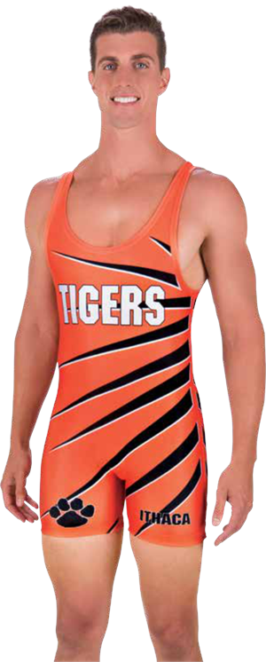 Takedown Sublimated Wrestling Singlet Teamwork ProSphere