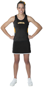 Black/Gold Inspiration Ladies Jersey