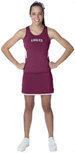 Maroon/White Inspiration Ladies Jersey