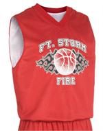 Fadeaway Youth Reversible Basketball Jersey Teamwork 1411