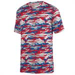 Mod Camo Adult Wicking Tee Augusta 1805