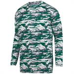 Mod Camo Adult Long Sleeve Wicking Tee Augusta 1807
