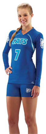 Ace Sublimated Volleyball Jersey Teamwork ProSphere