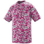Digi Camo Wicking Two-button Adult Jersey Augusta 1555