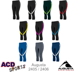 Action Ladies Color Block Capri Augusta 2405