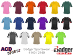 Digital Hook Tee Adult Badger 4140