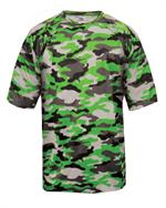 Camo Adult Tee Badger 4181