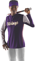 Diamond Sublimated Batters Jacket Alleson Athletic