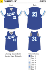 Dugout Sublimated Fastpitch Uniform Alleson Athletic